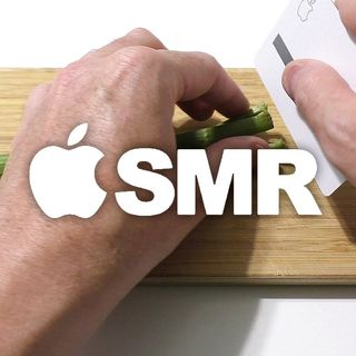 Shapening Titanium Knife made of Apple Card AMSR