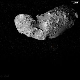 28E-40-Itokawa A Strange Space Peanut