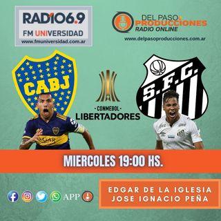 Pálido empate entre Boca y Santos en el encuentro de ida de las semifinales de la Libertadores