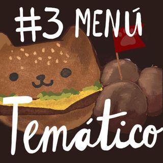 #3. Menú Temático
