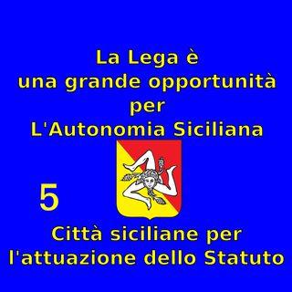 """Puntata del 24 Marzo 2019 - Movimento """"Città siciliane per l'attuazione dello Statuto"""""""