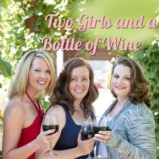 Two Girls And A Bottle Of Wine