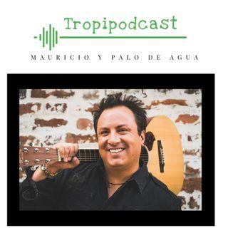 Mauricio y Palo de Agua con grandes historias de su vida y su música . Primera parte.