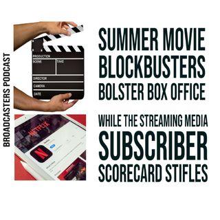 Summer Movie Blockbusters Bolster Box Office While the Streaming Media Subscriber Scorecard Stifles BP070921-182