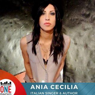 """Ania Cecilia welcome back to London One """" non pensavo di fare un singolo a Londra ci sono riuscita e pure un libro sono felice"""""""