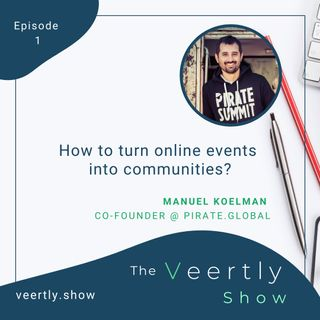 How to turn online events into communities?