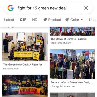 People In The Hood Can't Afford Green New Deal It Will Keep Poor People At 27 Thousand Dollars A Year (15 Dollars An Hour)