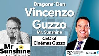 Dragons' Den Vincenzo Guzzo - Mr. Sunshine