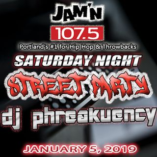 JAM'N 107.5 SATURDAY NIGHT STREET PARTY 01/05/19
