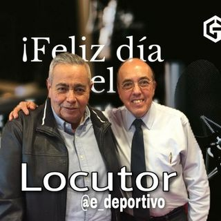 Comenzando semana y celebrando el día del Locutor con el Rudo y Pepe en Espacio Deportivo de la Tarde 14 de Septiembre 2020