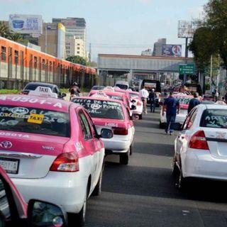 Taxistas realizarán manifestaciones para pedir apoyo