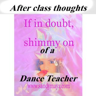 Is a great dancer naturally a great teacher?