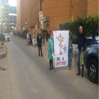 Bloquean avenida Universidad por proyecto Mitikah