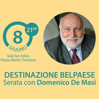 BookWeek: Destinazione Belpaese, incontro con Domenico De Masi.