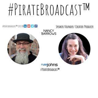 Catch Nancy Barrows on the #PirateBroadcast™