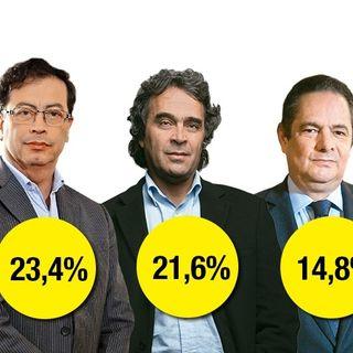 Gustavo Petro se trepa al primer lugar en la Gran Encuesta