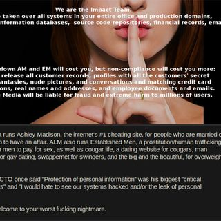 Ashley Madison - Part 1