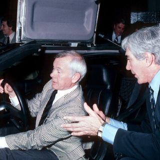 When Johnny Carson almost ran over my mom in his Delorean.