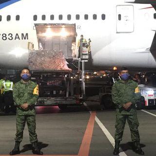 Llega nuevo vuelo de China