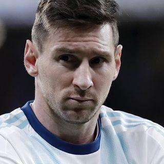 La infinita tristeza albiceleste de Messi