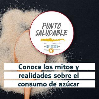Dieta Sana | Punto Saludable sobre el consumo de azúcar diario