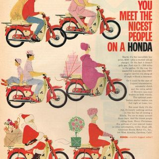 You Meet the Nicest People on a Honda, but we didn't stay that way!