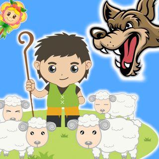 28. Pedro y el lobo. Cuento infantil de Hada de Fresa para enseñar a los niños a no mentir