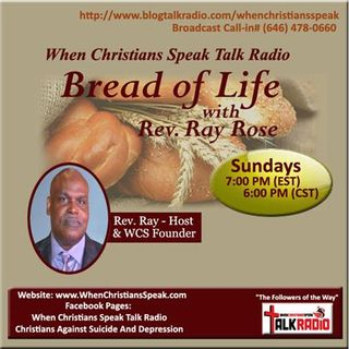 Bread of Life with Rev. Ray: Got sin? Jesus died for it!!!!