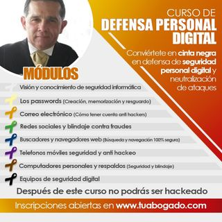 #Audio Curso de Defensa Personal Digital en Ciberespacio IT-NEWS.LAT Edgar rincón Entrevista a Raymond Orta