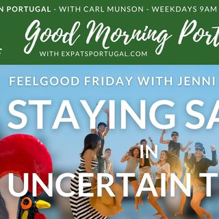 Feelgood Friday on the GMP! Staying sane in uncertain times with Jenni B