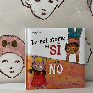 66. Le sei storie dei sì e dei no: zio sì & io no! di Sara Agostini, illustrazioni di Marta Tonin
