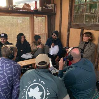 Sitting in a small room w/ Al Knost, Kassia Meador, Karina Rozunko, Justine Mauvin, Ainara Aymat