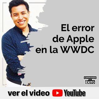 El Error de Apple