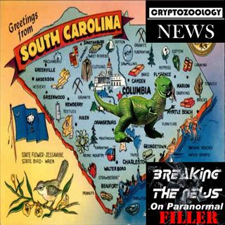 Dinosaur shows up in South Carolina