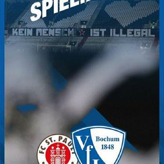 VfL Bochum 1848 Zu Gast Am Millerntor