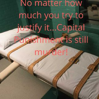 Capital PUNISHMENT IS MURDER! State Of TEXAS Do Not Murder Patrick Murphy