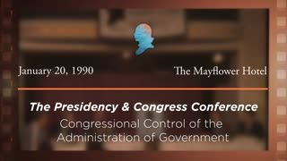 Panel III: Congressional Control of the Administration of Government: Hearings, Investigations, Oversight, and Legislative History [Archive