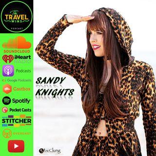 Sandy Knights | chasing her dreams of singing in Sin City, Las Vegas