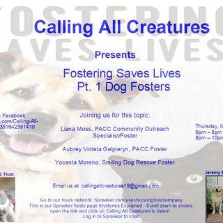 Calling All Creatures Welcomes Liana Moss, Yocasta Moreno, & Aubrey Violeta Gelpieryn