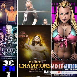 3CT - Maria Manic, WWE Clash and More