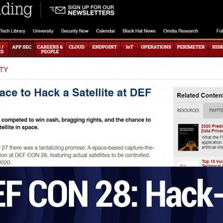 DefCon 2020: Hack-A-Sat | TWiT Bits