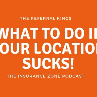What to do if your location sucks!