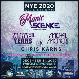 Break Science Live at NYC 2020 Live Stream on 2020-12-31