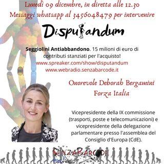 Onorevole Deborah Bergamini, Forza Italia. Seggiolini antiabbandono, arriva il contributo