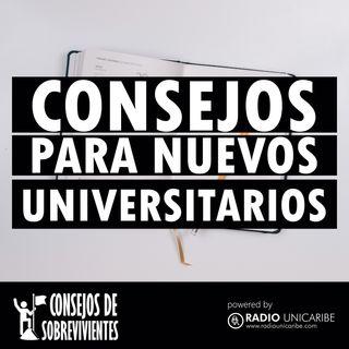 Consejos para nuevos Universitarios