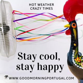 Portugal news, weather and 'how to stay cool, stay happy'