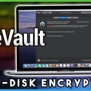 HOM 10: Using FileVault to Secure Your Data