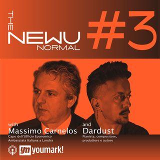 The NEWU Normal con Dardust e Massimo Carnelos