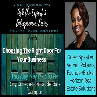 Ask The Expert Entrepreneur w Vernell Roberts