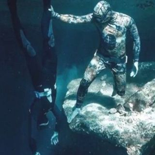 Il subacqueo sfigato